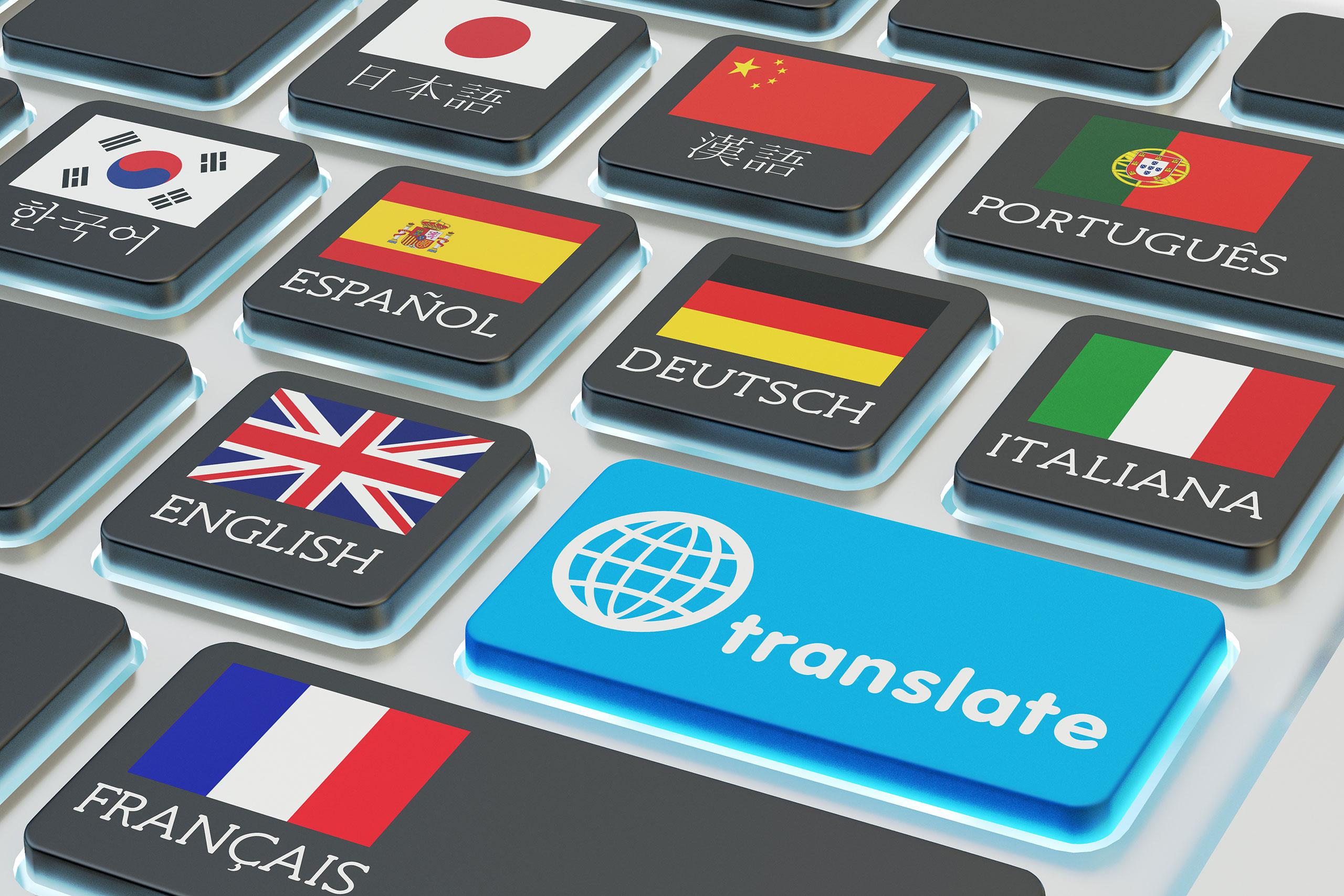 Professional translations