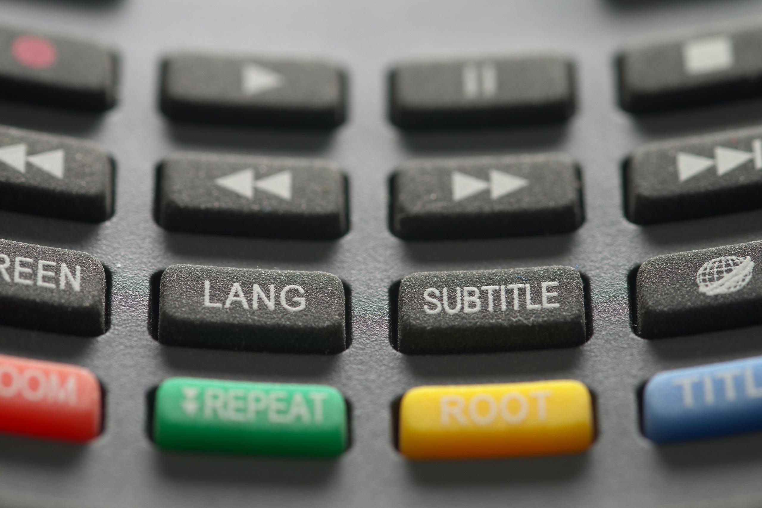 Multilingual subtitling
